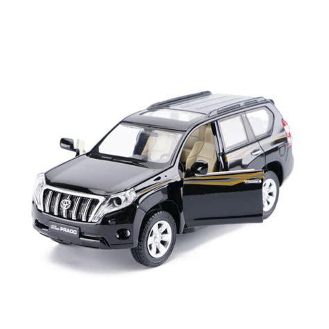 1 32 toyota land cruiser prado suv diecast car toys sound light black for sale ebay