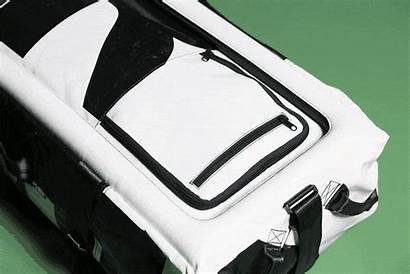 Open Zip Bag Flap Access Lockable Compartment