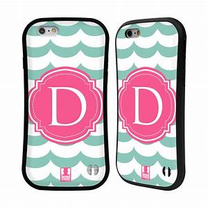 Head case designs letter cases hybrid case for apple for Letter phone case