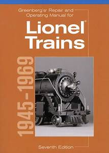 Greenbergs Lionel Train Manual 1945