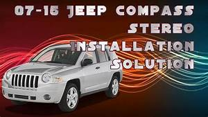 2007-2015 Jeep Compass Stereo Harness Solution