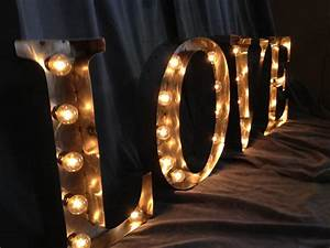 custom made marquee letters 24 inch tall love sign white With large love marquee letters