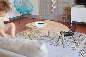 Tapis Style Berbere : salon table basse tapis berb re lifestyle mode d co maman diy ~ Teatrodelosmanantiales.com Idées de Décoration