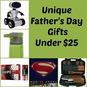 Unique Father's Day Gift Ideas under $25 - Our Family World