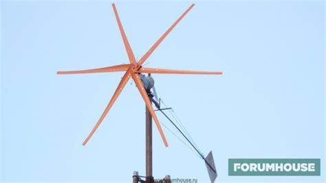 Расчет мощности ветрогенератора для дома или дачи