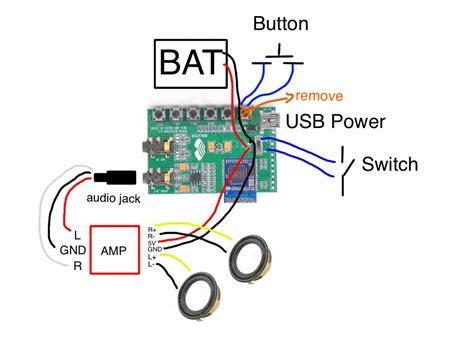wiring diagram for bluetooth speakers handmade bluetooth speaker francisco sahli