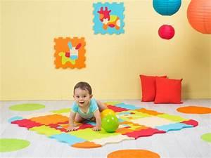 Dalle Mousse Bébé Non Toxique : tapis en mousse pour votre enfant b b va s 39 clater ~ Voncanada.com Idées de Décoration