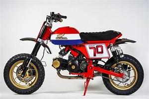 Honda Monkey 125 : custom 2019 honda monkey 125 39 tracker 39 mini bike ~ Melissatoandfro.com Idées de Décoration