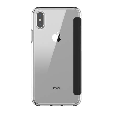 griffin reveal wallet cover for iphone x xs black