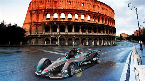 Second-gen Formula E Car Gets The Futuristic Look It