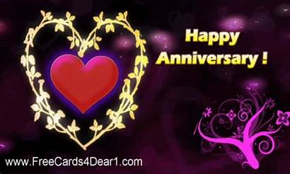 Anniversary Happy Animated Wishes Greetings Card Greeting