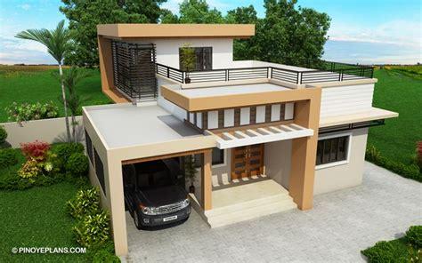 kassandra storey house design roof deck house roof design storey house small