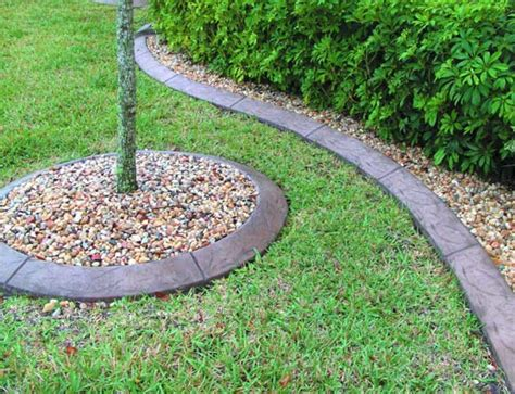 decorative curb and concrete money with decorative concrete curbing concrete decor
