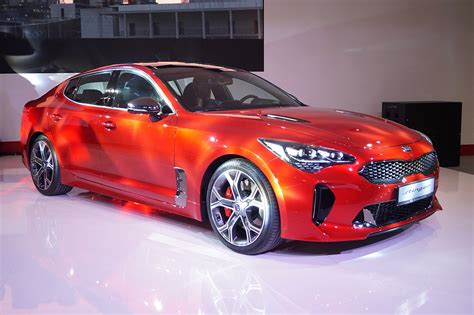 Kia Picture by Kia Stinger