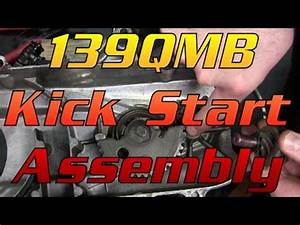 139QMB (GY6 50) Kick Starter Assembly : 50cc Scooter Help ...