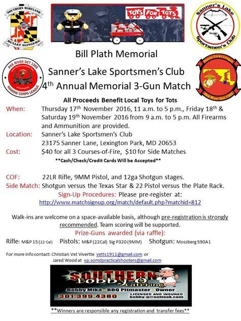 sanners lake sportmens club toys  tots charity  gun event