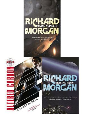 richard morgan  books collection set altered carbon
