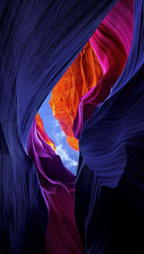 antelope canyon arizona symphony  sandstone
