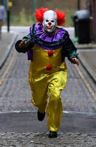 Things To Do On Halloween In Liverpool by Killer Clown Craze Clip Shows Screaming Woman Ambushed As