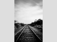 Black And White Railroad 11x85 6