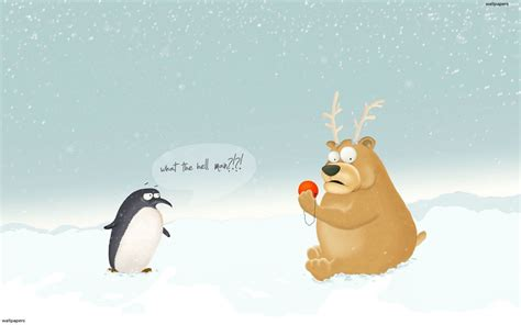 Funny Christmas Wallpapers ·①