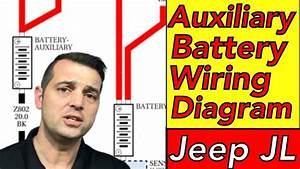 Aux Battery Wiring Diagram 2018 Jeep Jl Wrangler  Auxiliary Battery Schematic