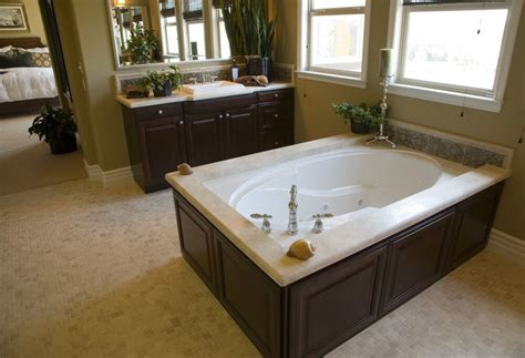 Garden Soaking Tub by 24 Luxury Master Bathroom Designs With Centered Soaking Tubs