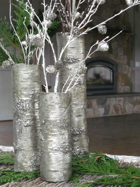 Vase With Branches by Silver Branch Vases Fair Harbor Marina