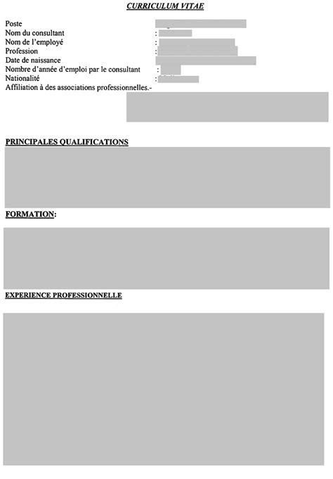 Modèle De Cv Vierge Cv Modèles De Cv Modele De Cv Vierge A Imprimer Resume Template