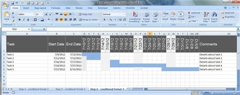 creating  excel schedule template hubpages