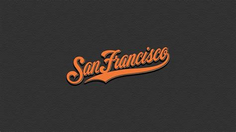 San Francisco Giants Backgrounds San Francisco Giants Logo Wallpapers Wallpaper Cave