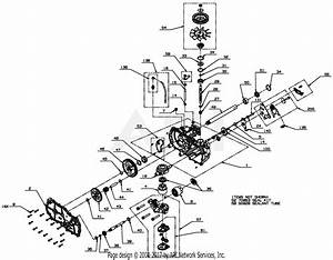 Gravely 03872300 - Ezt D-shaft Parts Diagram For Transmission  Lh
