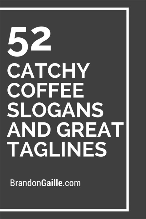 Preview the generated coffee shop logo designs, and select the logo with your favourite design. List of 151 Catchy Coffee Slogans and Great Taglines   Coffee slogans, Clever coffee quotes ...