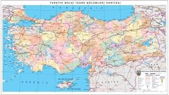 Turkey High Resolution Road Map
