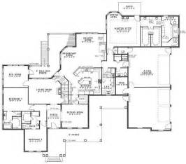 Floor Plan With Garage Pictures by 4 Car Garage Floor Plan House Plans