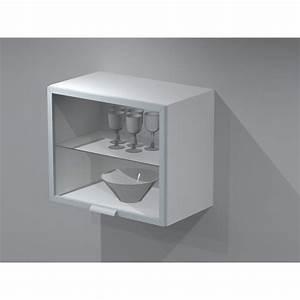 meuble haut de cuisine avec porte lift 60cm With meuble cuisine 60 cm de large