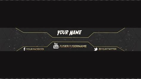 channel banner template banner templates template business