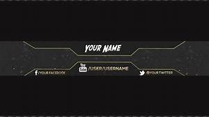 Youtube Banner Templates | Template Business