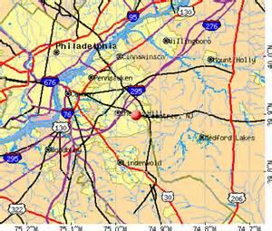 New Jersey Pennsylvania Border Map