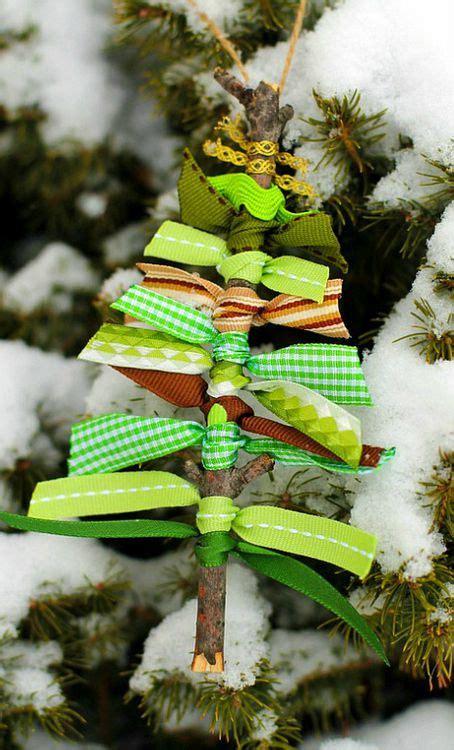 diy christmas tree ornaments   natural materials