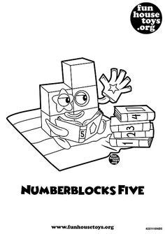 Coloring Numberblocks by Alphablocks Numberblocks Learning Letters And Numbers