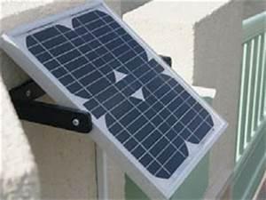 Portail Electrique Solaire : motorisation int gr e et solaire pour portails ~ Edinachiropracticcenter.com Idées de Décoration