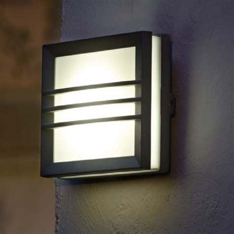 contemporary outdoor wall lights  pir modern