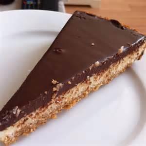 tarte au chocolat et aux noix