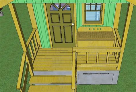 sq ft quixote cottage tiny cabin design