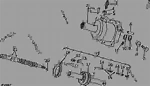 Steering Valve Cylinder  Tractor Serial No  -027634   03i10  - Tractor John Deere 4430