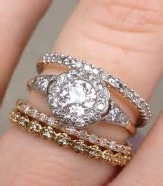 Vintage Mismatched Stack! Show Me Yours Too ;)  Weddingbee. Alexis Bittar Rings. Round Shape Engagement Wedding Rings. Woman 2013 Wedding Rings. Affordable Men Wedding Engagement Rings. Native Wedding Rings. Month Year Wedding Rings. Tangled Engagement Rings. Oklahoma Rings