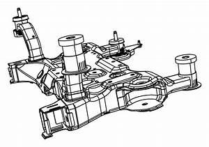 2012 Dodge Avenger Crossmember  Front Suspension