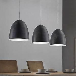 Esstisch Lampe Design : esstisch h ngeleuchte spika in dunkelgrau im factory style ~ Markanthonyermac.com Haus und Dekorationen