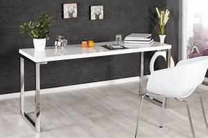 Design Schreibtisch Weiß : design schreibtisch 120cm hochglanz wei riess ~ Heinz-duthel.com Haus und Dekorationen